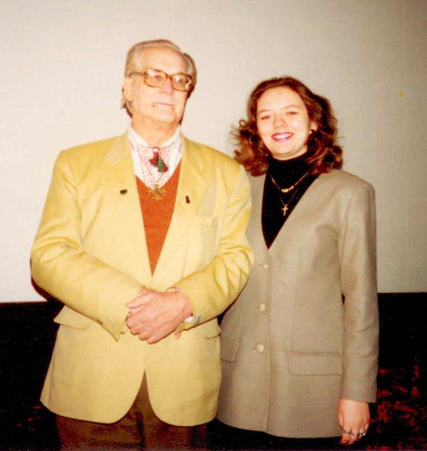 Я и К.П. Бутейко в 1996 г.